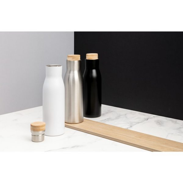 Clima leakproof vacuum bottle with steel lid P436.612