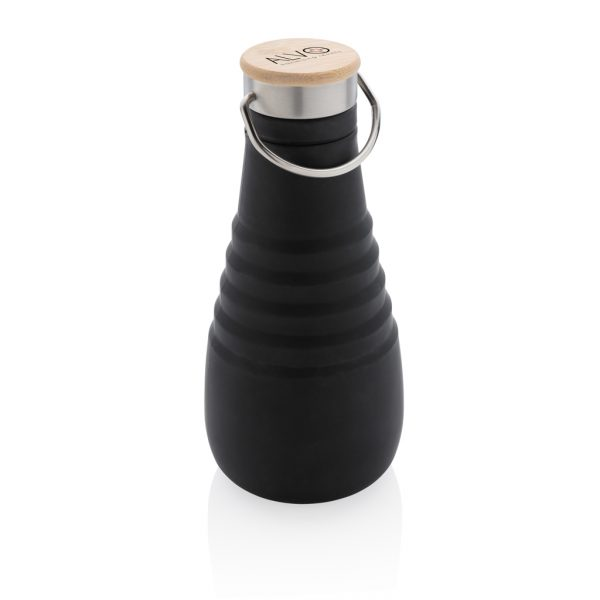 Leakproof silicone foldable bottle P436.741