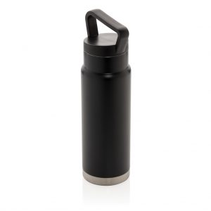 Leakproof vacuum on-the-go bottle with handle P436.921