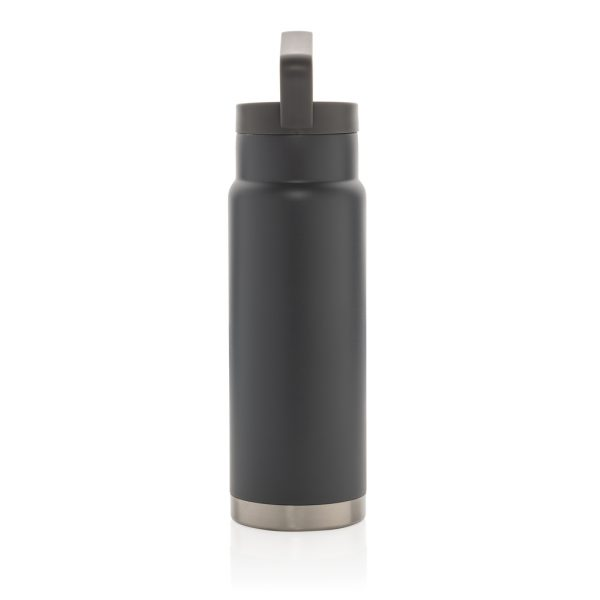 Leakproof vacuum on-the-go bottle with handle P436.922