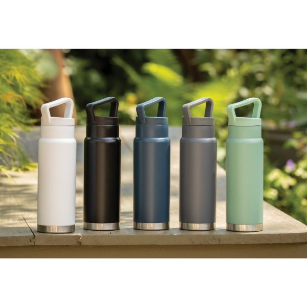 Leakproof vacuum on-the-go bottle with handle P436.923