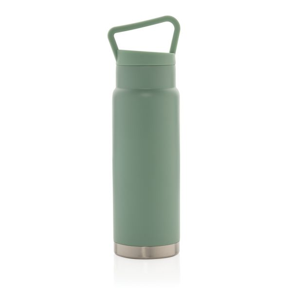 Leakproof vacuum on-the-go bottle with handle P436.927