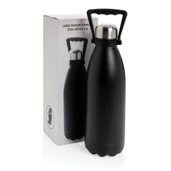 Large vacuum stainless steel bottle 1.5L P436.991