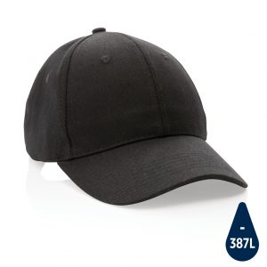 Impact 6 panel 280gr Recycled cotton cap with AWARE™ tracer P453.301