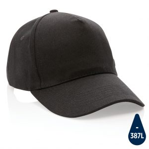 Impact 5panel 280gr Recycled cotton cap with AWARE™ tracer P453.311