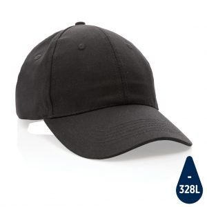 Impact 6 panel 190gr Recycled cotton cap with AWARE™ tracer P453.321