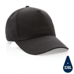 Impact 5 panel 190gr Recycled cotton cap with AWARE™ tracer P453.331