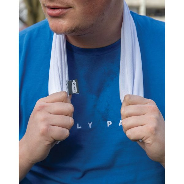 RPET sport towel in pouch P453.783