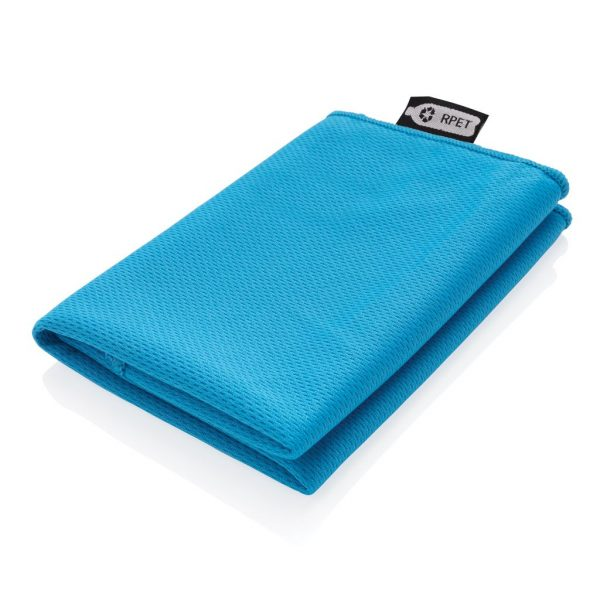 RPET sport towel in pouch P453.785