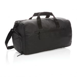 Fashion black weekend bag PVC free P707.161