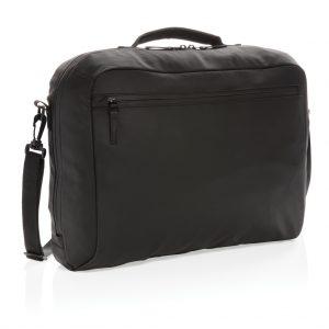 """Fashion black 15.6"""" laptop bag PVC free P730.141"""