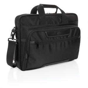 """Swiss Peak RPET Voyager RFID 15.6"""" laptop bag P732.071"""