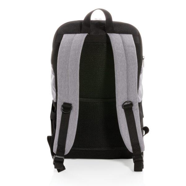"Modern 15.6"" USB & RFID laptop backpack PVC free P760.051"