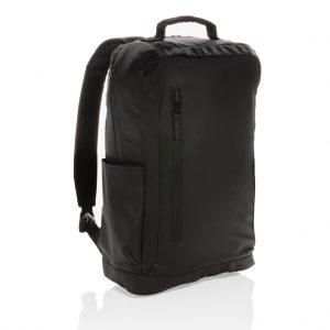 "Fashion black 15.6"" laptop backpack PVC free P760.131"