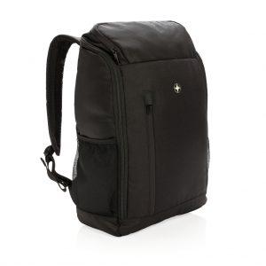 """Swiss Peak RFID easy access 15"""" laptop backpack PVC free P762.281"""