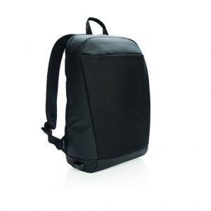 Madrid anti-theft RFID USB laptop backpack PVC free P762.511