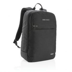 Swiss Peak laptop backpack with UV-C steriliser pocket P762.551