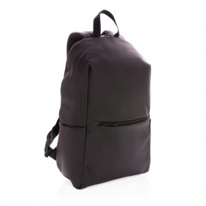 """Smooth PU 15.6""""laptop backpack P762.571"""