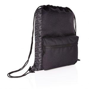 AWARE™ RPET Reflective drawstring backpack P762.591