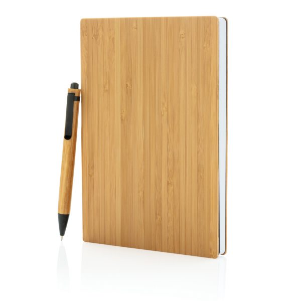 A5 Bamboo notebook & pen set P772.159