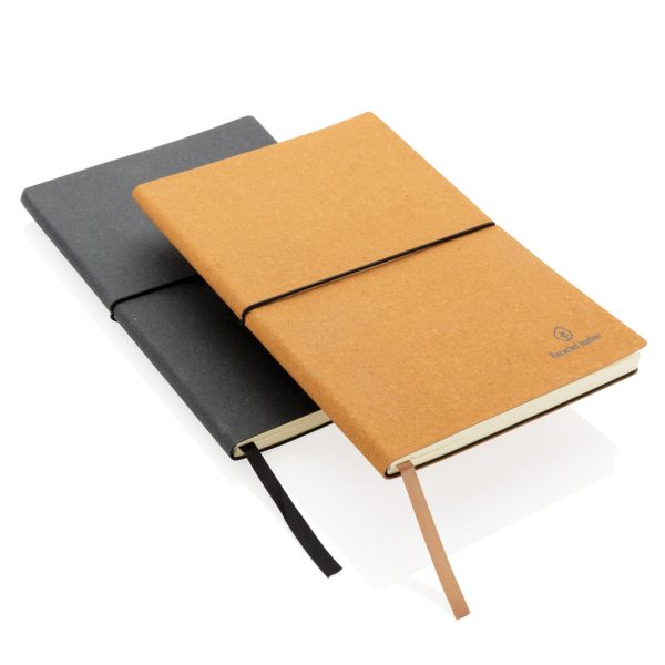 A5 recycled leather notebook P772.212