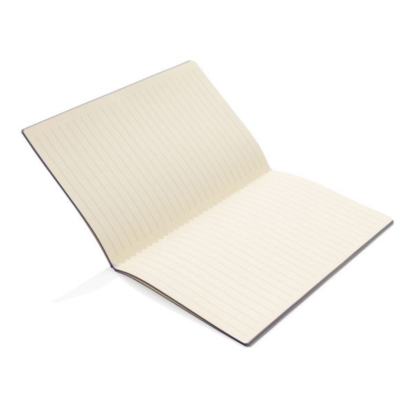 Softcover PU notebook with coloured edge P774.020