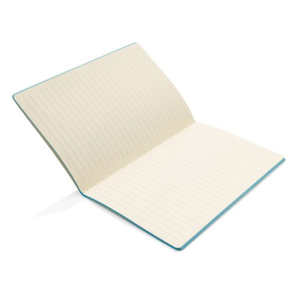Softcover PU notebook with coloured edge P774.025