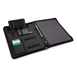 Air 5W wireless charging portfolio A4 w/ 5000 mAh powerbank P774.041