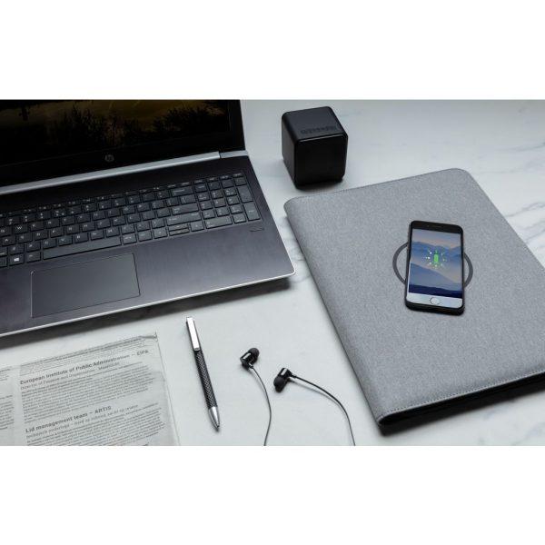 Air 5W wireless charging portfolio A4 w/ 5000 mAh powerbank P774.042