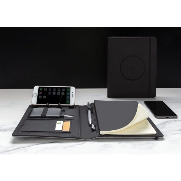Air 5W wireless charging notebook with 5000mAh powerbank P774.051