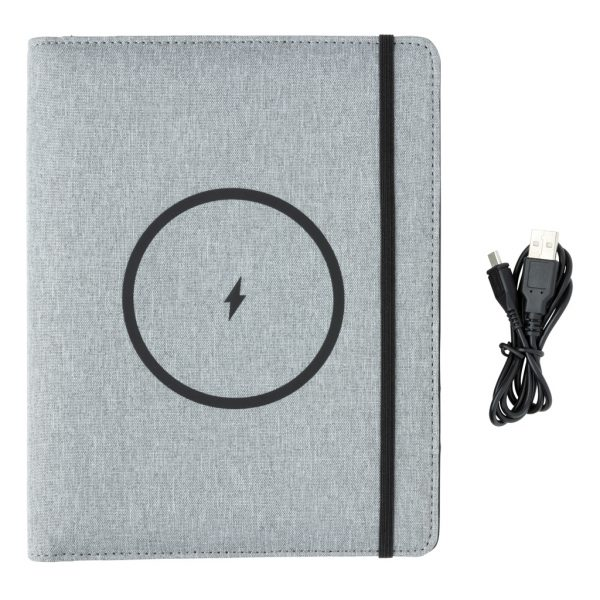 Air 5W wireless charging notebook with 5000mAh powerbank P774.052