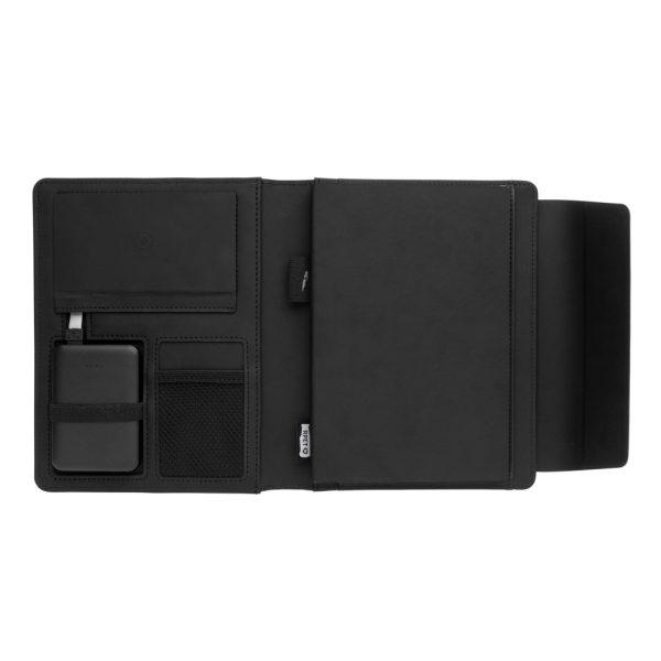 Fiko wireless charging A5 portfolio with powerbank P774.081