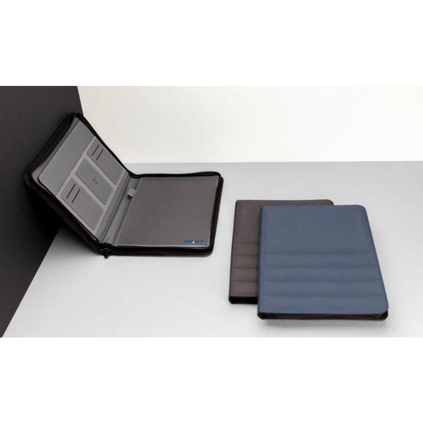 Impact AWARE™ RPET A4 portfolio with zipper P774.165