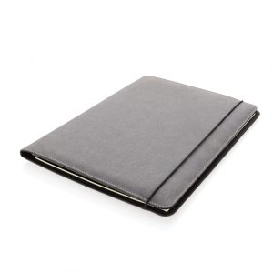 Recycled leather A4 portfolio P774.192