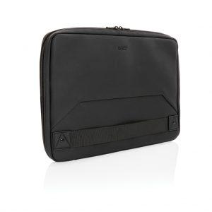 Swiss Peak vegan leather laptop sleeve workstation PVC free P788.001