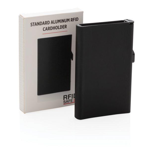 Standard aluminium RFID cardholder P820.041