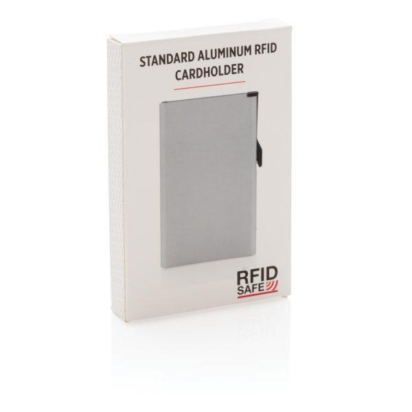 Standard aluminium RFID cardholder P820.042