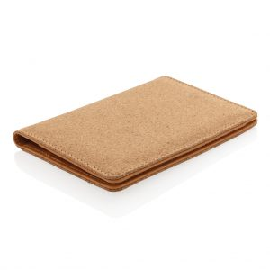 ECO Cork secure RFID passport cover P820.459