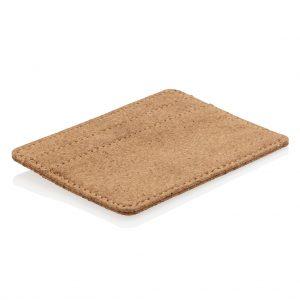 Cork secure RFID slim wallet P820.879