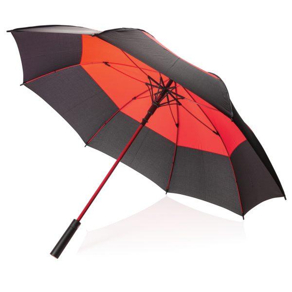 "27"" auto open duo colour storm proof umbrella P850.294"