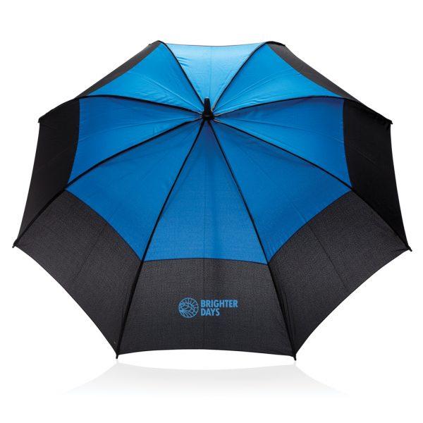 "27"" auto open duo colour storm proof umbrella P850.295"