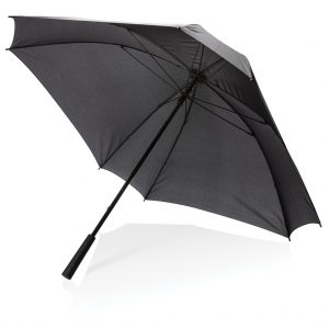 "27"" manual XL logo space square umbrella P850.351"