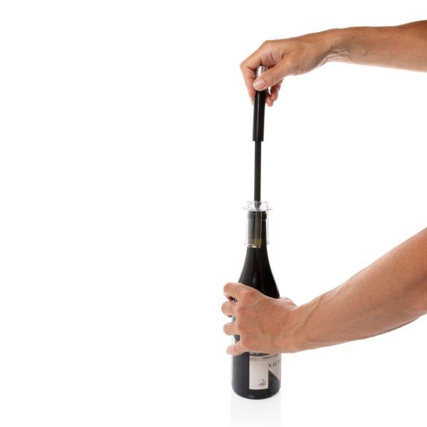 Vino Deluxe metal air pressure pump opener P911.042