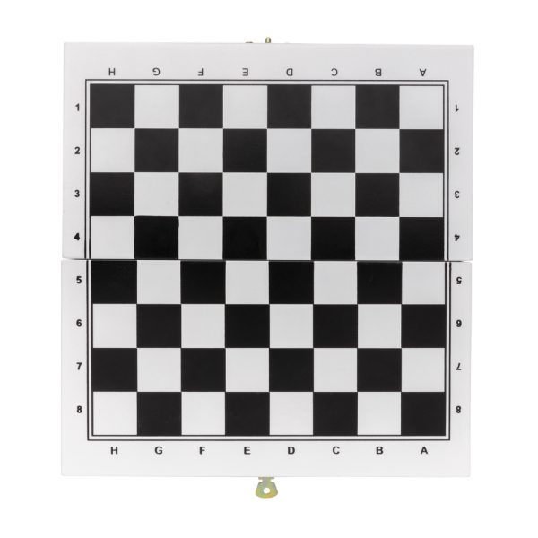 Deluxe 3-in-1 board game in wooden box P940.053