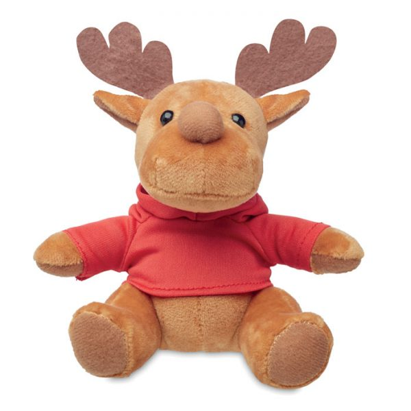 Plush reindeer with hoodie RUDOLPH CX1469-05