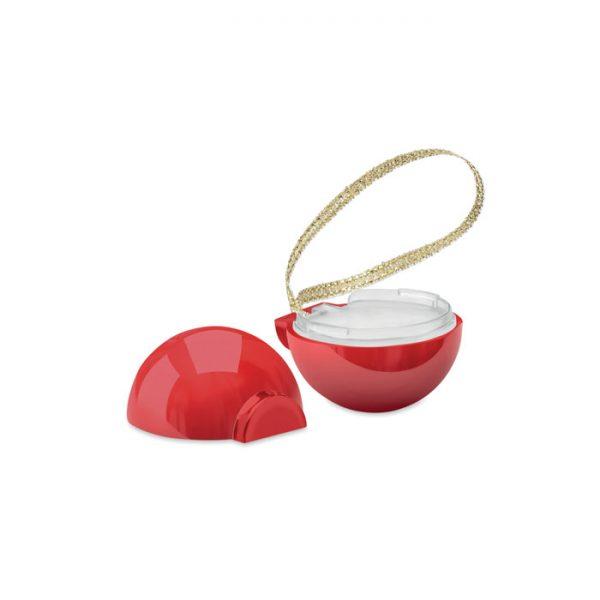 Christmas bauble lip balm BAUBLEBAM CX1470-05