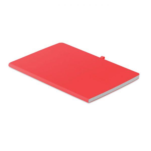 A5 soft PU cover notebook RAINBOW MO6116-05