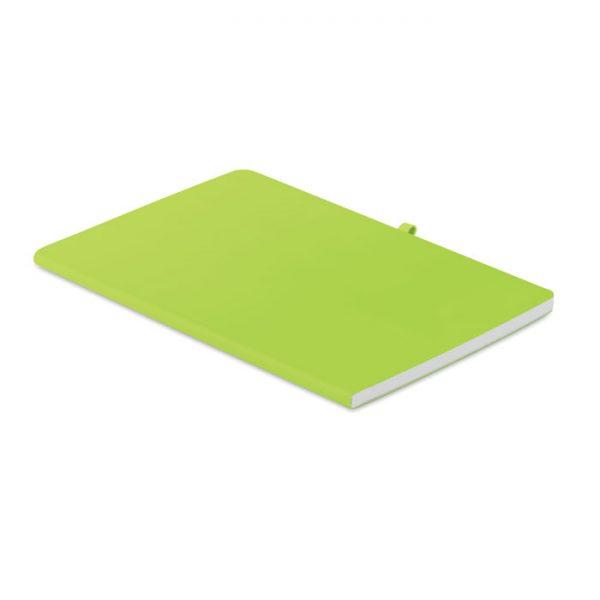 A5 soft PU cover notebook RAINBOW MO6116-48