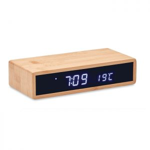 Wireless charger in bamboo MORO MO6139-40