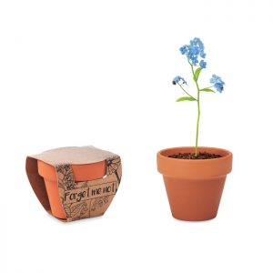 Terracotta pot 'forget me not' FORGET ME NOT MO6146-40